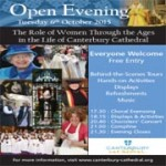 The 2015 Canterbury Cathedral Open Evening