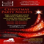 Stonelees Golf  Christmas Party Nights