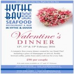 Hythe Bay Valentines Dinner