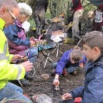 Kent Wildlife Trust Family Forest School Day at Denstead Wood