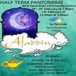 Aladdin at West Faversham Community Centre