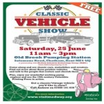 Classic Vehicle Show at Old Brook Pumping Station