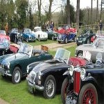 Classic Car Show at Beech Court Gardens