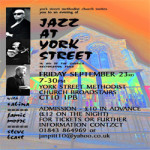 Jazz At York Street 23 Sep 2016