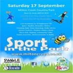 Sport in the Park at Milton Creek