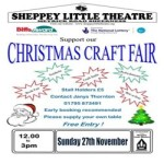 Christmas Craft Fair at Sheppey Little Theatre