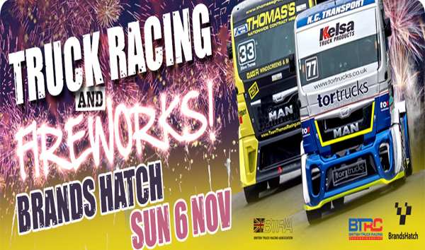 British Truck Racing Championship Amp Fireworks 5th 6th