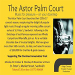 The Astor Palm Court 28 Nov 2016