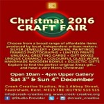 Christmas Craft Fair at Creek Creative