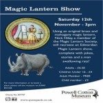 Magic Latern Show at Powell-Cotton Museum