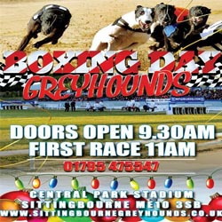 The Stag Maidstone >> Boxing Day Greyhounds at Sittingbourne Greyhounds ...