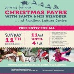 Christmas Fayre at Swallows Leisure Centre