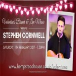Valentine's Dinner & Live Music with Stephen Cornwell