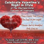 Celebrate Valentine's Night in Style at The Shurland Hotel