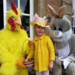Easter Egg Garden Quiz at Lullingstone Castle & the World Garden