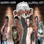 Live Wrestling in Gillingham, Kent on Sunday 24th September 2017
