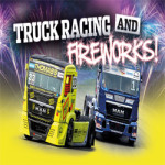 British Truck Racing Championship and Fireworks