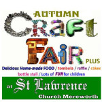 Autumn Craft Fair Plus on Saturday 11th November 2017