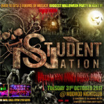 Student Nation. Biggest Halloween Party in Kent on Tuesday 31st October 2017