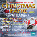 Christmas Fayre at Strode Park House – Saturday 25th November