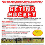 Christmas Getin2Hockey at Gravesend Rugby Club – Tuesday 5th December 2017