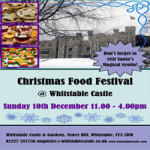Christmas Food Festival at Whitstable Castle – Sunday 10th December 2017