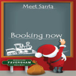 Santa Specials at Faversham Miniature Railway – 10th & 17th December 2017
