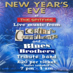 New Years Eve Party at The Spitfire in West Malling – Sunday 31st December 2017