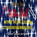 Argentine Tango Glitter Christmas Ball at Littlebourne War Memorial Hall – Saturday 16 December 2017