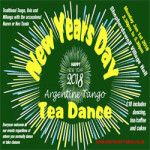 Argentine Tango New Year Day Tea Dance at Shepherdswell Village Hall – Monday 01 January 2018