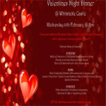 Valentines Night @ Whitstable Castle – Wednesday 14th February 2018
