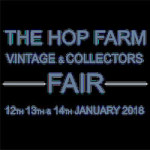 The Hop Farm Vintage & Collectors Fair at Hop Farm – 12th to 14th January 2018