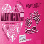 Valentines Disco and Meal at Planet Ice Gillingham – Wednesday 14th February 2018