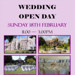 Wedding Open Day @ Whitstable Castle – Sunday 18 February 2018