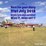 Grain Village Carnival 2018 – Saturday 21st July