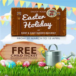Easter Holiday Fun at Kent and East Sussex Railway – 30th March to 15th April 2018