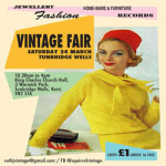 Tunbridge Wells Vintage Fair at King Charles the Martyr Church Hall – Saturday 24th March 2018