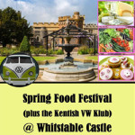 Spring Food Festival & VW Camper Show at Whitstable Castle – Sunday 22nd April 2018