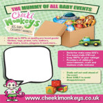 Cheeki Monkeys Tunbridge Wells BIG Baby Event at Showfields Hall – Saturday 23rd June 2018