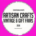 Tonbridge Artisan Crafts, Vintage & Gift Fair at Angel Leisure Centre – Saturday 14th April 2018