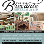 The Big Brocante at Hop Farm on 25th to 28th May 2018
