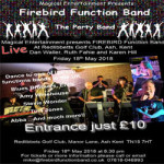 Live Music and Dancing at Redlibbetts Golf Club – Friday 18th May 2018