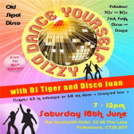 Dance Yourself Dizzy Disco on Saturday 16th June 2018