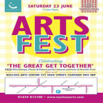 ARTSFEST celebrating The Great Get Together at Nucleus Arts Creative Riverside Hub – Saturday 23rd June 2018