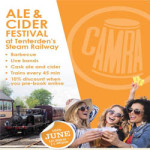 CAMRA Real Ale & Cider Festival at Kent and East Sussex Railway – Saturday 16th June 2018
