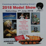 Faversham Military Modelling Groups 2018 show at Alexander Centre – Saturday 7th July