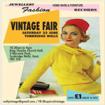 Tunbridge Wells Vintage Fair at King Charles the Martyr Church Hall – Saturday 23rd June 2018