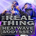 The Real Thing – Heatwave and Odyssey on 27th July 2018