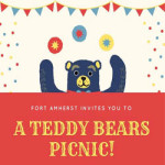 Teddy Bears Picnic! at Fort Amherst – Monday 30th July 2018
