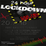 24 Hour Lockdown at Fort Amherst – 20th & 21st July 2018